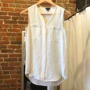 Theory silk work blouse!